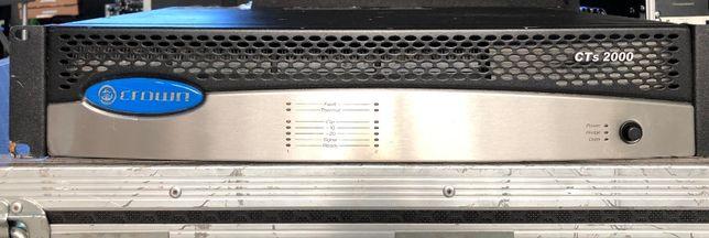 Amplificador Crown CTs 2000