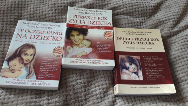 Książki poradniki o ciąży i dzieciach