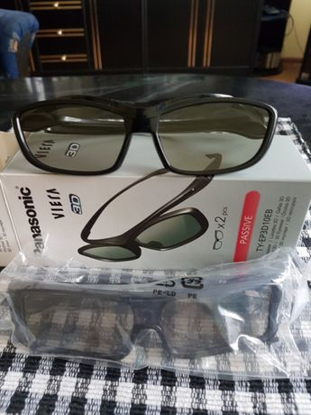 Okulary panasonic pasywne dwie pary