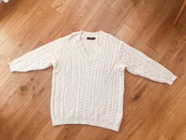 ZARA knit obszerny sweter oversize M
