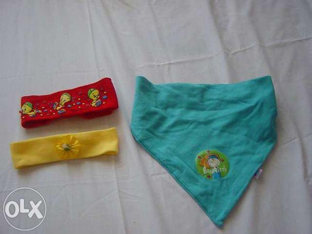 Fitas e lenços