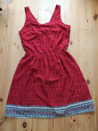 Sukienka boho H&M r. 38
