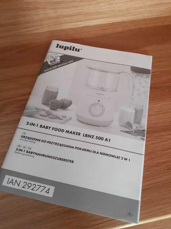 Urządzenie 2w1 do robienia zupek dla dzieci.