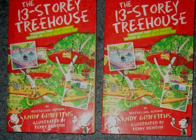 Детская книга на английском The 13-storey treehouse by Andy Griffiths