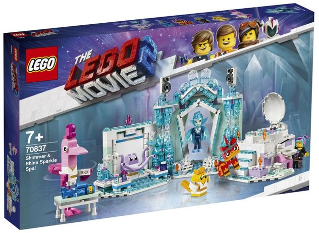Lego Movie 2 Сверкающее спа Шиммер и Шайн 70837