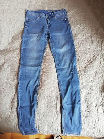 Spodnie jeansowe hm
