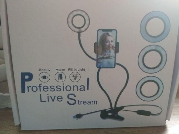 Селфи-кольцо Professional Live Stream