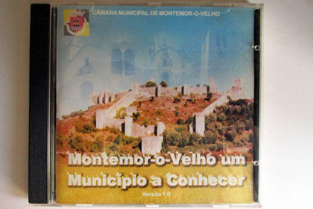 CD rom - Montemor-o-Velho, um município a conhecer, como novo
