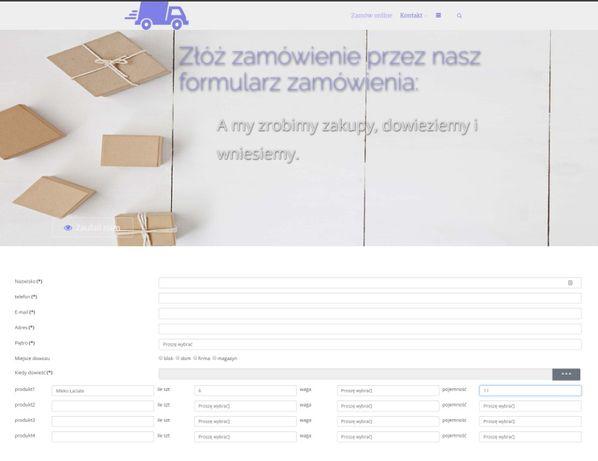 sprzedam system rezerwacji do zbierania zamówień sklep internetowy