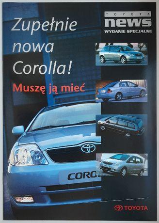 Toyota news - wydanie specjalne 2001 Toyota Corolla