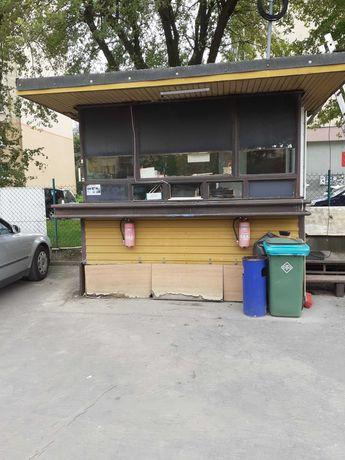 Budka / kiosk / pakamera na parking lub budowę / działkę