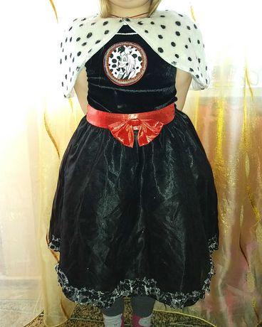 Стервелла Де Виль 101 далматинец карнавальный костюм. Хеллоуин.