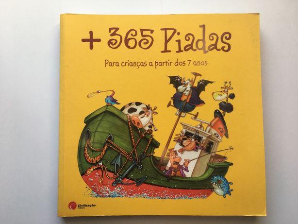 + 365 piadas - livro