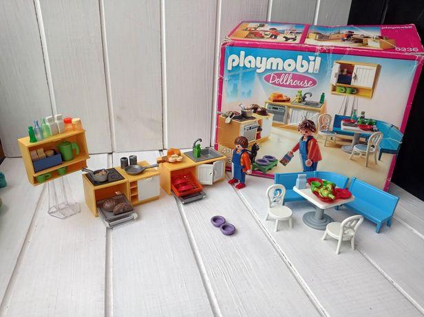 Конструктор Playmobil. Кухня, посуда Плеймобил. Игрушечная посуда еда