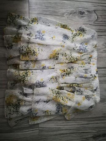 Spódnica spódniczka kwiatki kwiaty