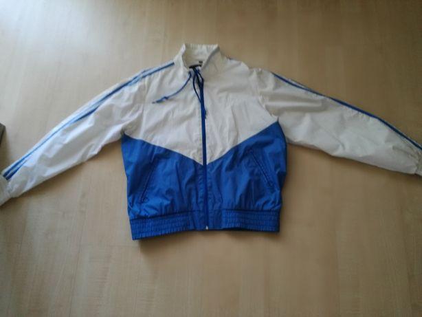 wiatrówka biało-niebieska , rozmiar 40
