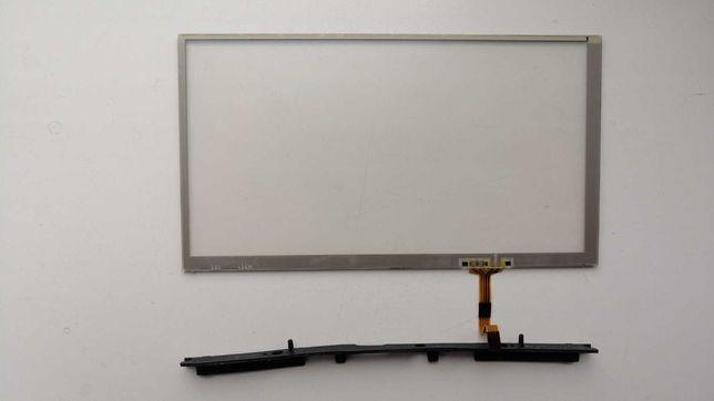 замена стекло экран тач скрин на монитор nissan leaf 11-17 лиф