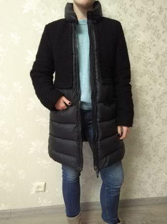 Фирменный пуховик пальто Geox