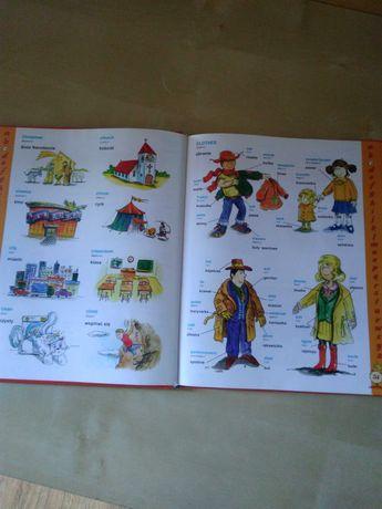 Ilustrowany Słownik angielsko polski dla dzieci mlodzieży 1500 wyrazów