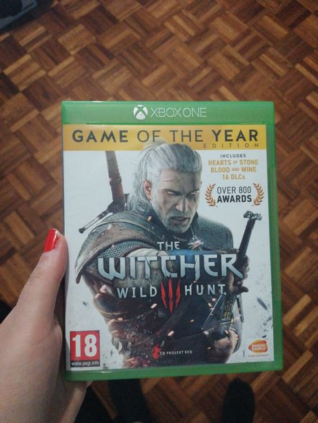 Jogo Witcher 3 wild hunt game of the year edition xbox one series S x