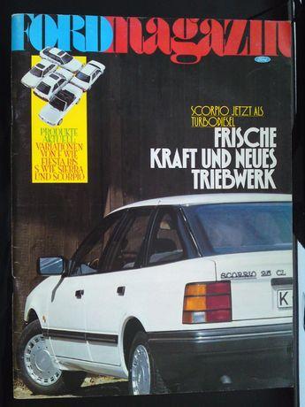 Ford Magazin 1/89 z 1989 roku