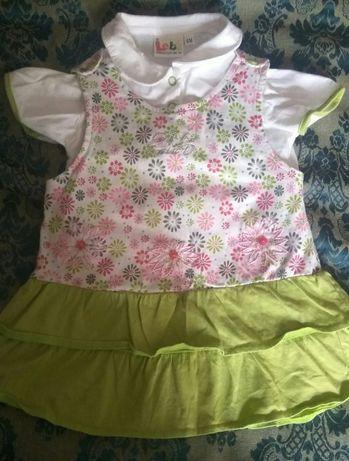 Платье на малышку два