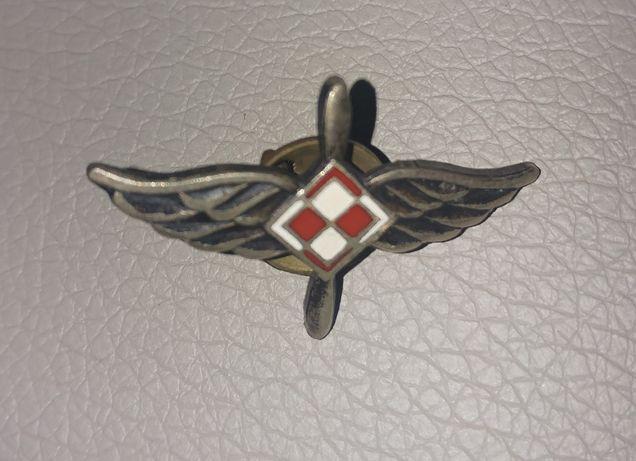 Odznaka Lotnictwo Kraków spinka zapinka