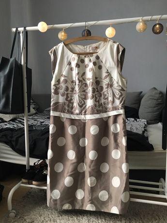 Elegancka sukienka duży rozmiar 48/50