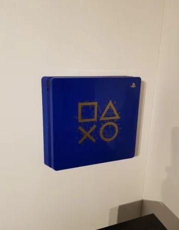 Suporte para parede Playstation 4 / PS4 - suportes invisíveis