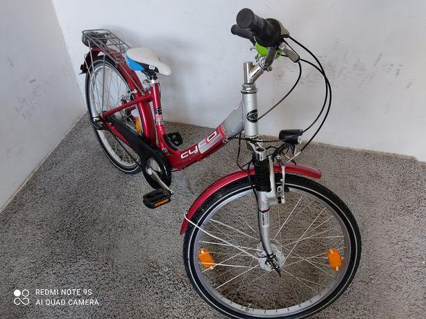 Rower dziecięcy Cyco koła 24 cale Aluminiowy SRAM7