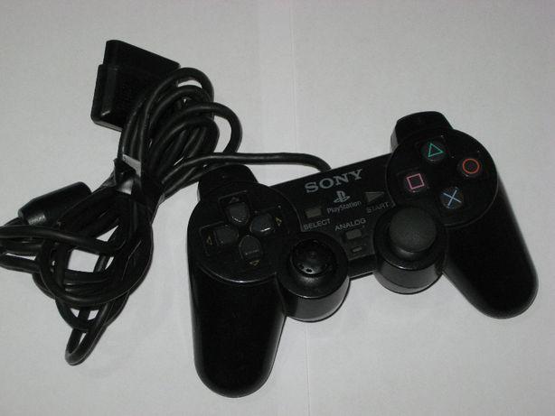 Oryginalny Kontroler PAD SONY PS2 PS1 uszkodzony