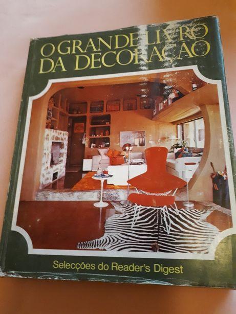 livro de decoração