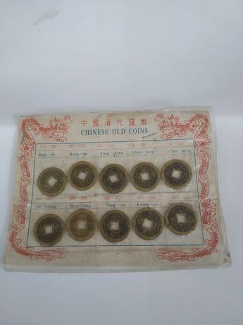 moedas chinesas antigas