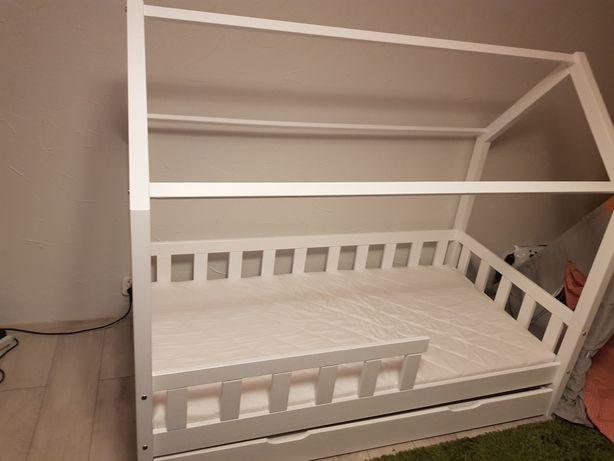 Nowe łóżko dziecięce +nowy materac