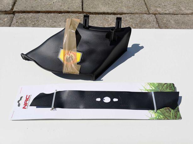 NAC LS46 nóż i wyrzut boczny, mulczowanie, zaślepka kosza