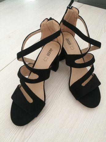 Nowe sandalki 38 sandaly slupek obcas
