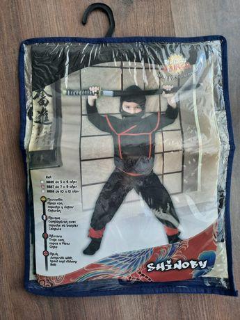 Disfarce carnaval - Ninja - 8/9 Anos