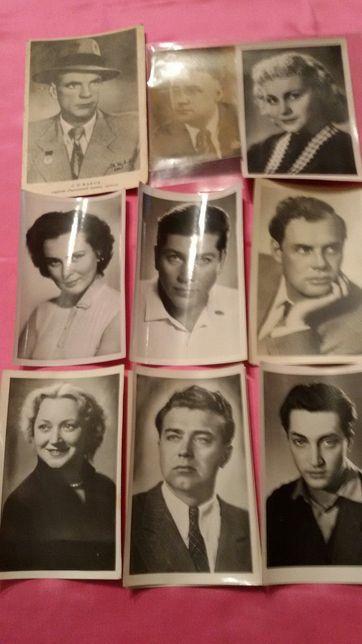 Фото артистов советского и зарубежного кино.