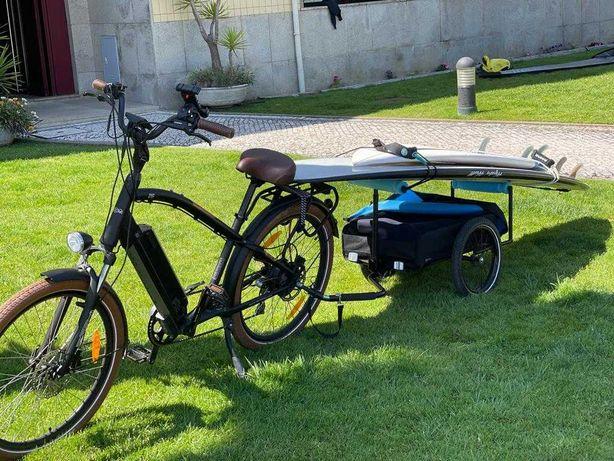 Atrelado para bicicletas - versão Prancha SURF