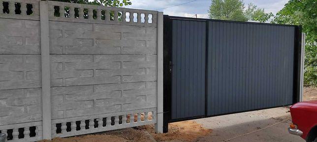 Найдешевша огорожа це бетонний паркан (забор, еврозабор)
