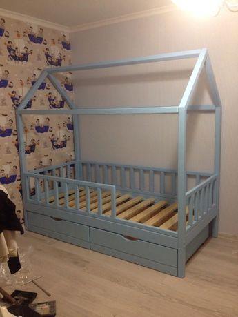 Кровать домик/Детская кровать из дерева