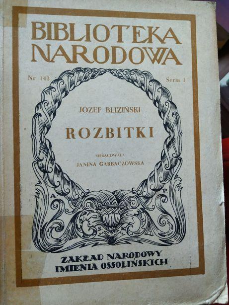 Rozbitki Bliziński oraz O Koperniku Śniadecki