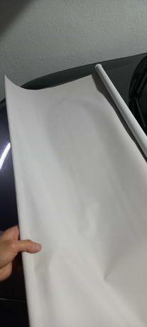 Estore de rolo - Branco opaco - 200x200cm