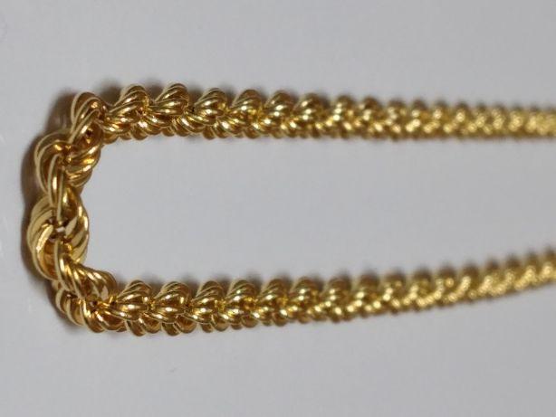 Nowy Złoty Łańcuszek Damski Gruby Śliczny 0,585