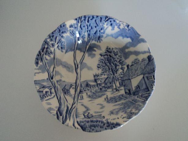 Taça inglesa porcelana tunstall england