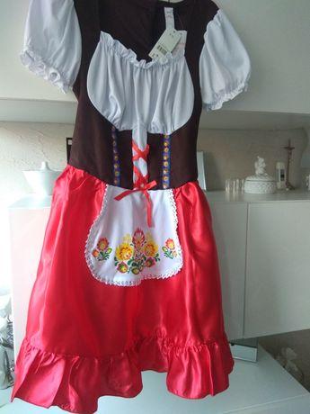 George sukienka, strój przebranie Bawaria/ludowa/folk
