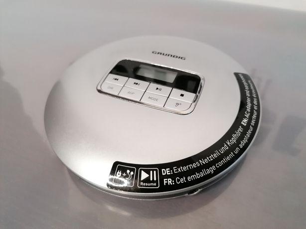 Grundig CDP 6600 discman mp3 z zasilaczem i słuchawkami