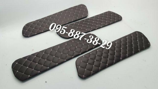 Вставки в двери, карты дверей ВАЗ 2109-21099 РОМБ с Белой нитью