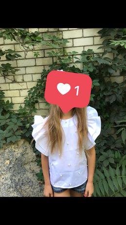 Красивая блузка,кофточка на девочку