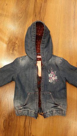 Куртка Gloria Jean's джинсовая на флисе